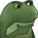 :FrogeThink: Discord Emote