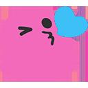 pinkblobkiss