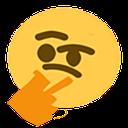 Emoji for thonkang