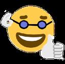 Emoji for emojiwithglasses
