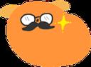 Emoji for mustache