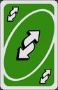 Emoji for reverseCardGreen
