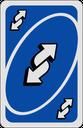 Emoji for reverseCardBlue