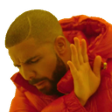 :DrakeNo: Discord Emote