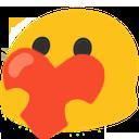Emoji for BlobHeart