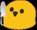 Emoji for blobknife