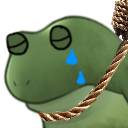 :FrogSadKms: Discord Emote
