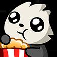 Emoji for pandapopcorn