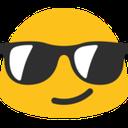 Emoji for blobsunglasses