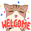 Emoji for welcome