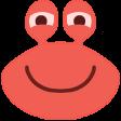 grinningcrab
