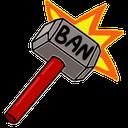 Emoji for ban_hammer