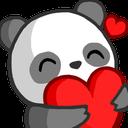 Emoji for panda