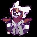 Emoji for furryshrug