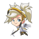 Emoji for kisspnglenaoxtonoverwatchmercydv