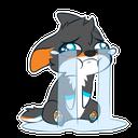 Emoji for furrycry
