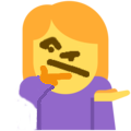Emoji for shurg