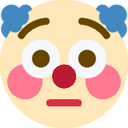 :clownflushed: Discord Emote