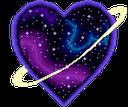 Emoji for galaxyheart