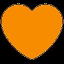 Emoji for AP_orange_heart