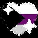 Emoji for demiheart