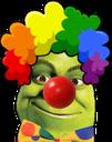 :ooShrekClown: Discord Emote