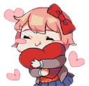 Emoji for sayori_love