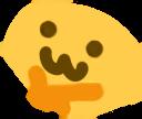 :ThinkOwO: Discord Emote