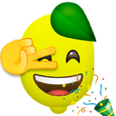 Emoji for dancinglemon