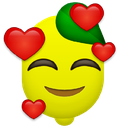 Emoji for lovelemon