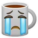 Emoji for sadcoffee