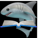 Emoji for bookshark