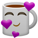 Emoji for lovecoffee