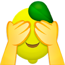 Emoji for embarrassedlemon