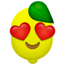 Emoji for hearteyelemon