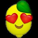 Emoji for hearteyelemon