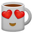 Emoji for hearteyecoffee