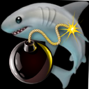 Emoji for bombshark
