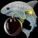 Emoji for bombshark