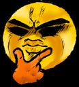 Emoji for seriousthink