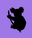 Emoji for purple_koala