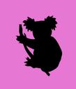 Emoji for pink_koala