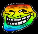 Emoji for trollface