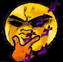 Emoji for Menacing_Think