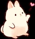 :bunnylove: Discord Emote