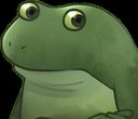 :FrogConcerned: Discord Emote