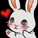 :bunnyheart: Discord Emote