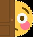 :FlushedPeek: Discord Emote