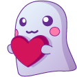 :ghostlove: Discord Emote