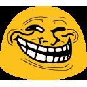 Emoji for trolled